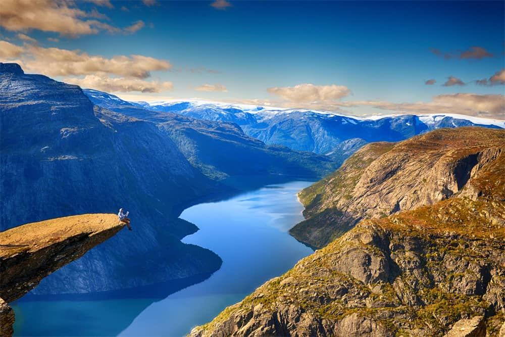 Trolltunga is without a doubt one of the best places to take photos in the world. Selfies included. Photo by Alexander Artworkx