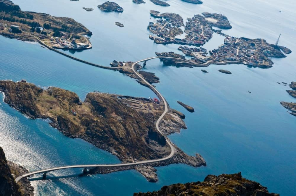 Drive on the ocean's edge - the Atlantic Road.