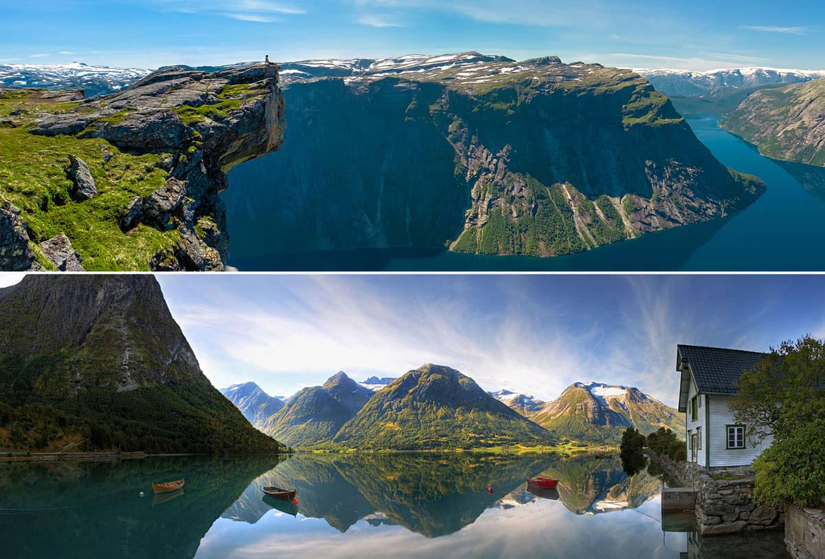 The fjords are the soul of Norway