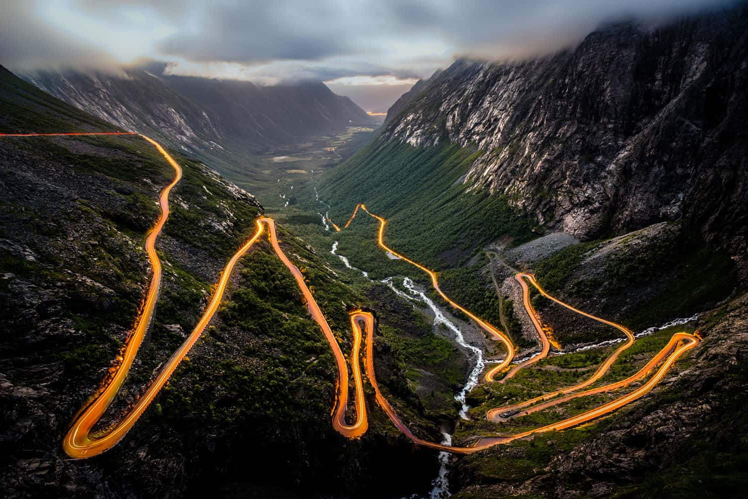 Trollstigen at Dawn