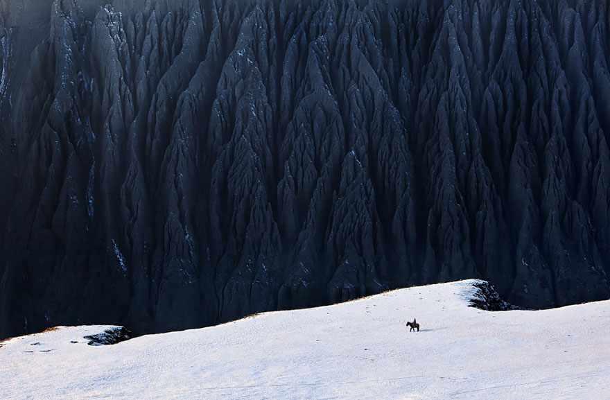 Dushanzi Grand Canyon, XinJiang. Photo by BJ Yang