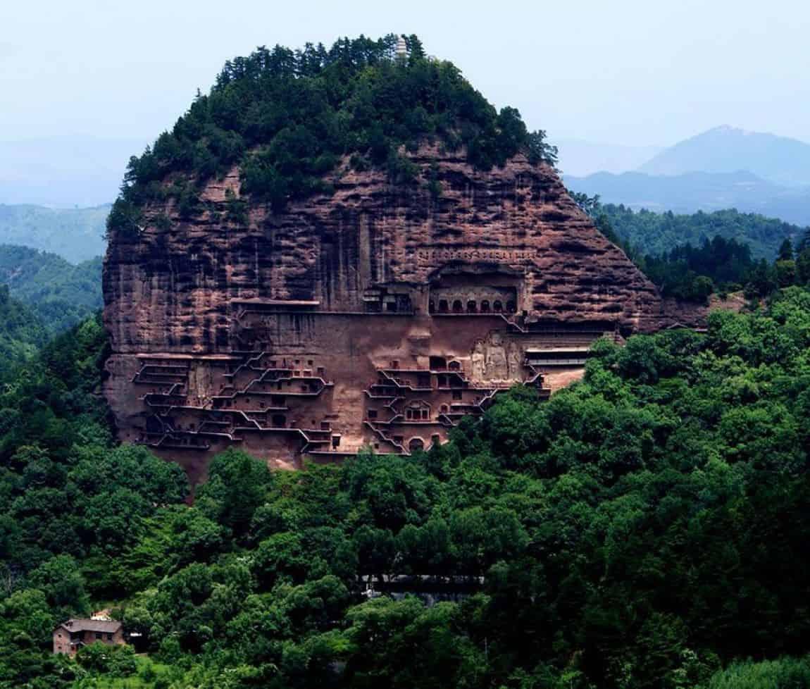 Maijishan Grottoes, Gansu Province