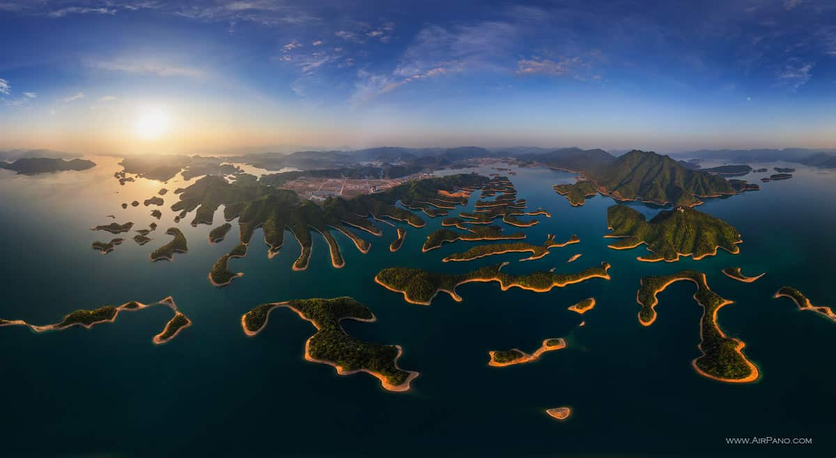 Qiandao Lake - Thousands Islands Lake Photo by airpano.com