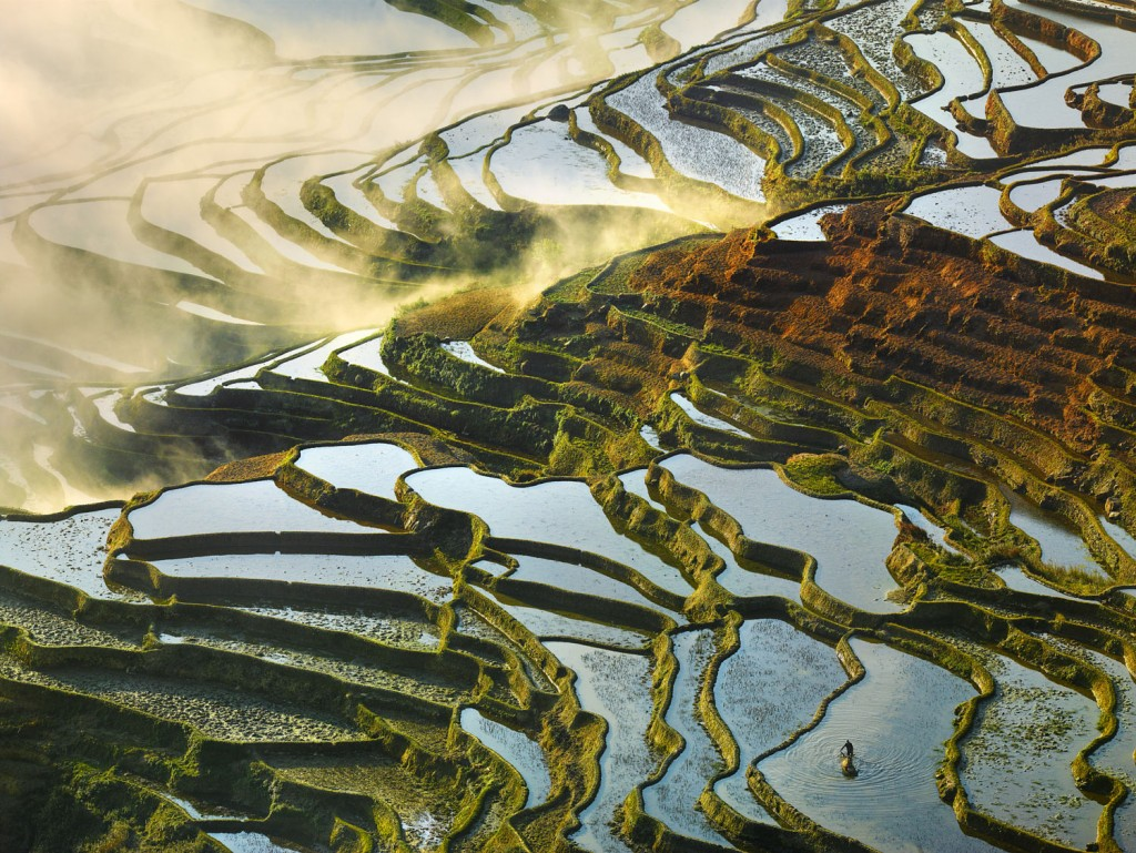 Spectacular Rice Terraces of Yuanyang. Photo by ThierryBornier