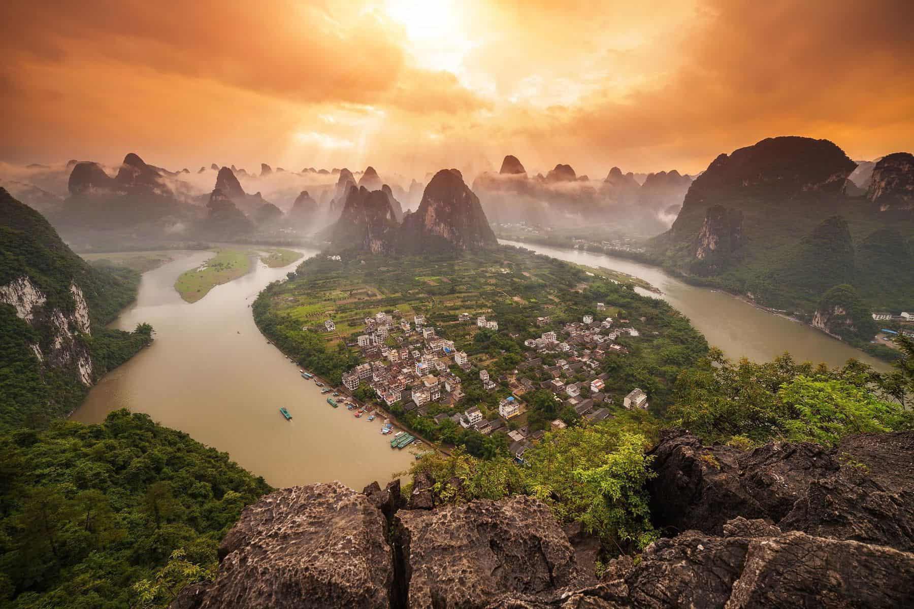 Yangshuo Xing Ping — Guangxi, China