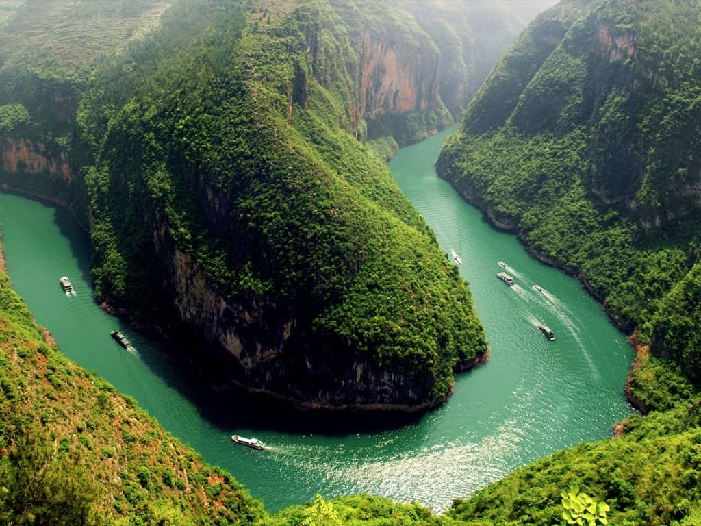 Yangtze River is the longest river in Asia and the third longest in the world.