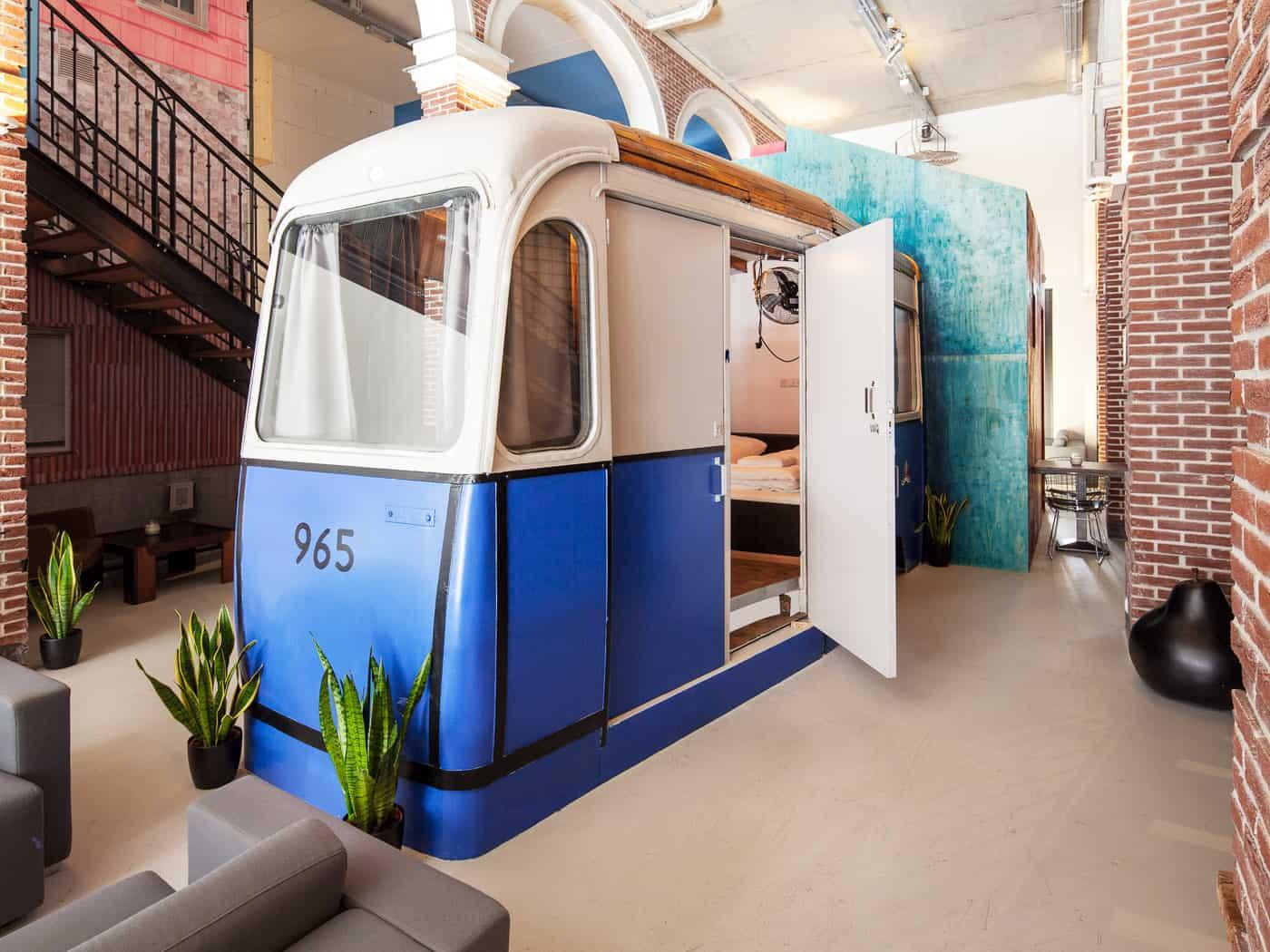 Tram-room-hotel
