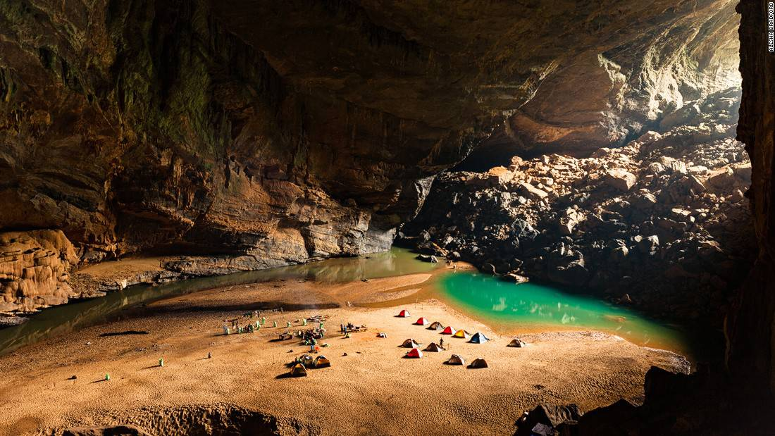 During the expedition you'll set up tent in Asia's best tent location, inside the cave.