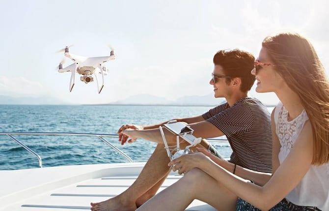 dji phantom 4 best drone for travel