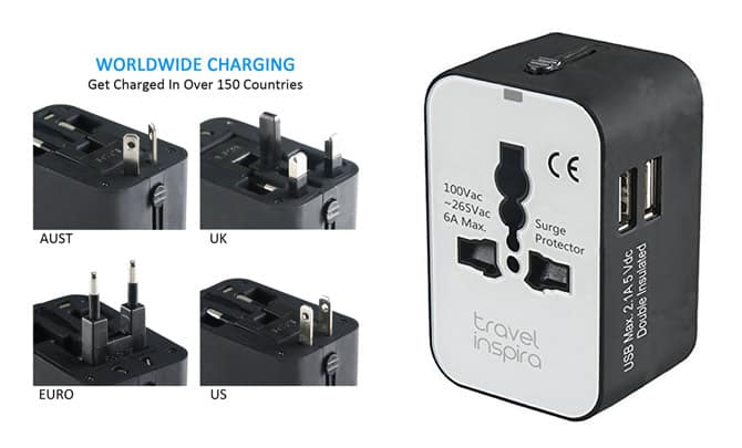 best universal travel adapter