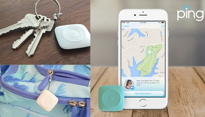 Ping is a personal GPS locator using multiple technologies to offer peace of mind, knowing you can find what matters when you need to.