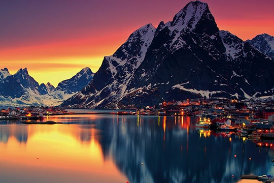 Best places to visit in norway